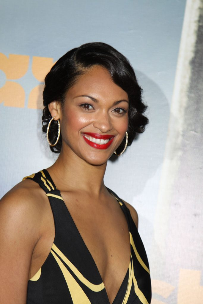 Cynthia Addai-Robinson at the SPARTACUS: VENGEANCE Premiere, January 18, 2012 at the ArcLight Cinerama Dome, Hollywood, California. Photo Credit Sue Schneider_MGP Agency