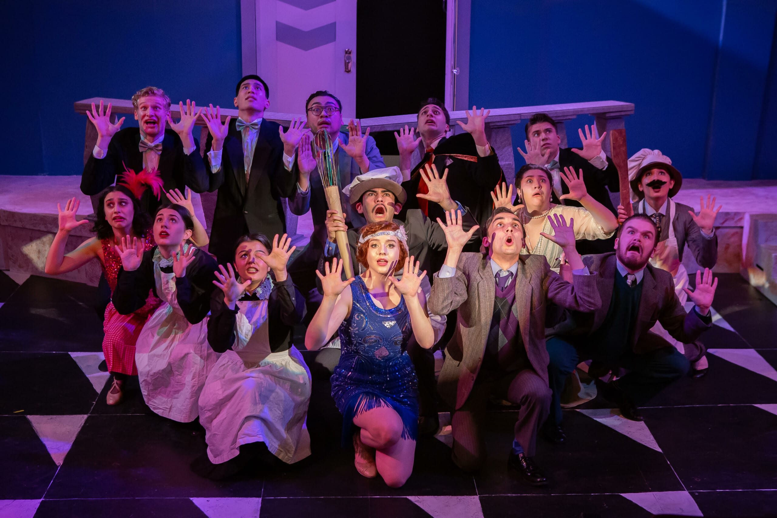the drowsy chaperone student production