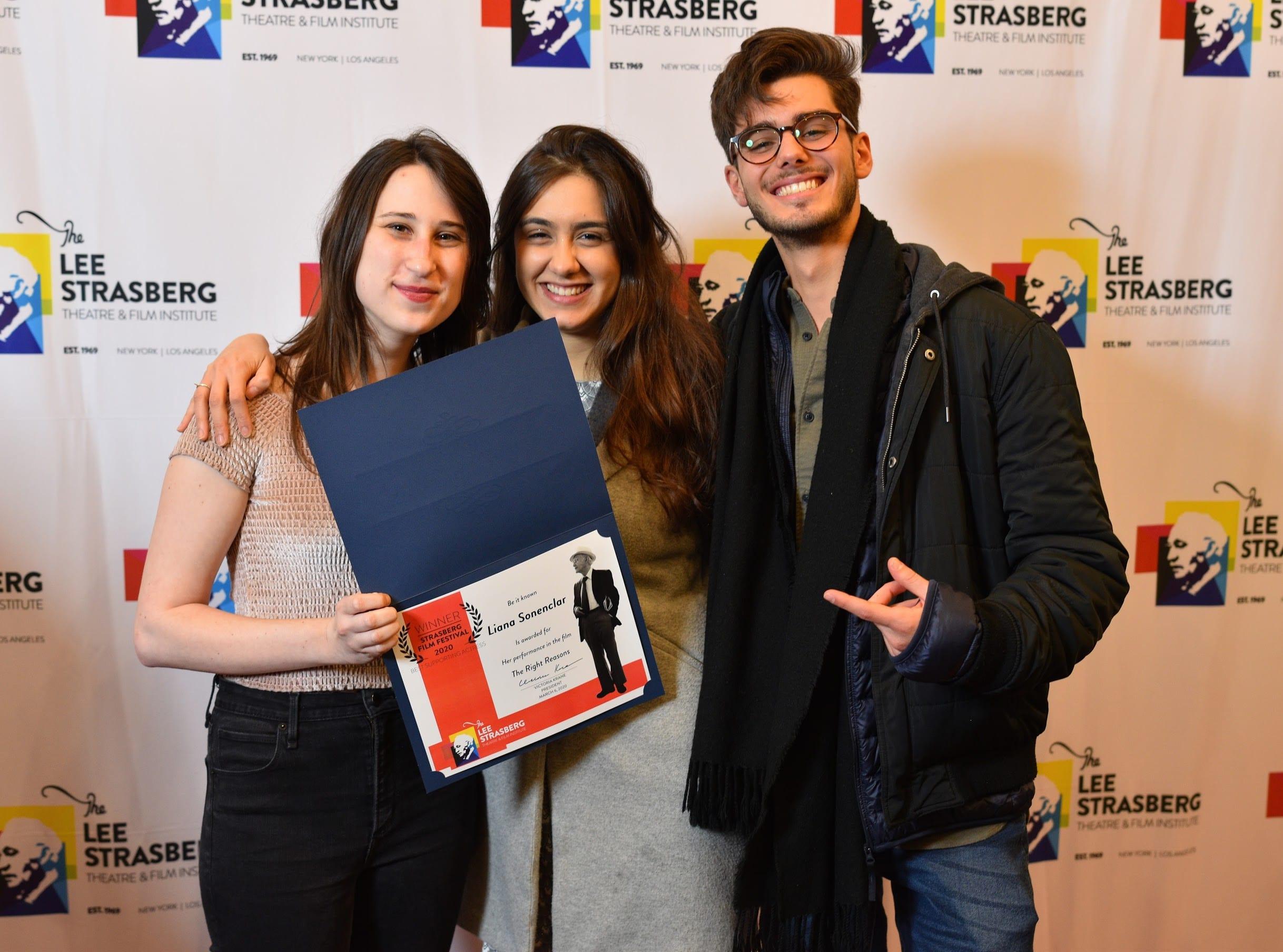 2020 strasberg film festival winner
