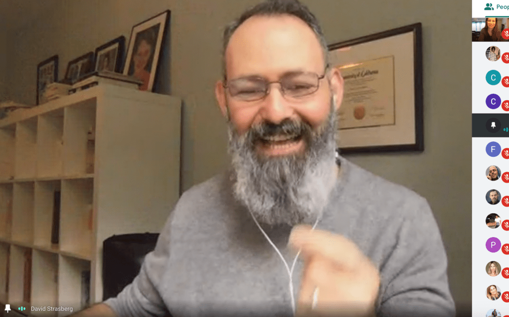 David Lee Straberg Teaching Method in the Morning