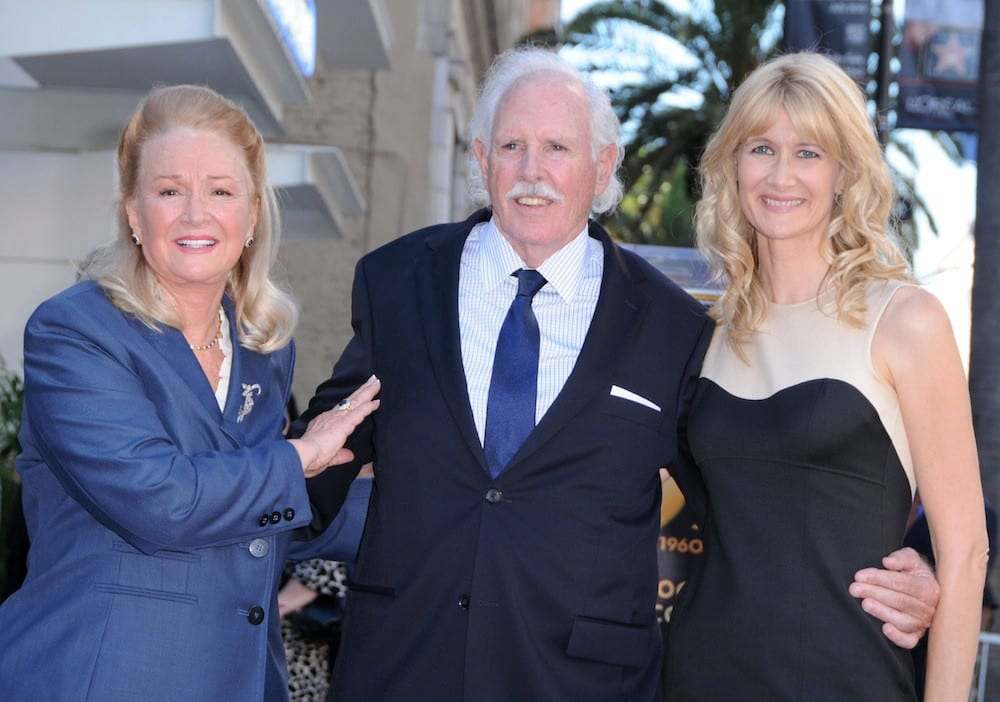 Laura Dern and her parents