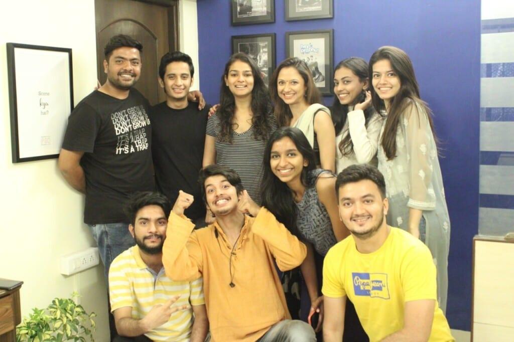 strasberg alumni panchami ghavri with casting team