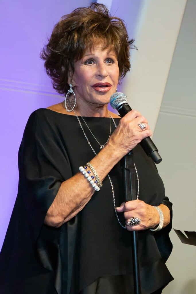 Lainie Kazan at the strasberg institute 50th Anniversary Gala